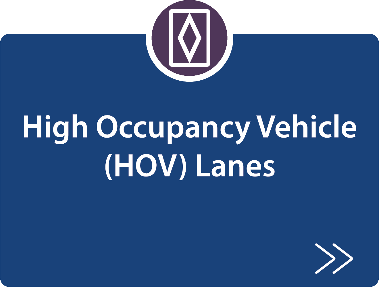high Occupancy Vehicle (HOV) Lanes strategy description